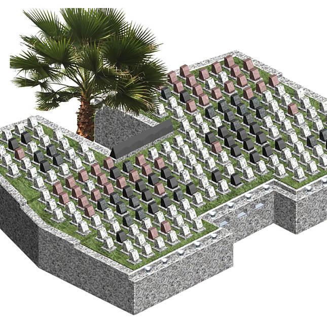 第二朝霞聖地霊園 樹木葬型永代供養墓 OASIS オアシス
